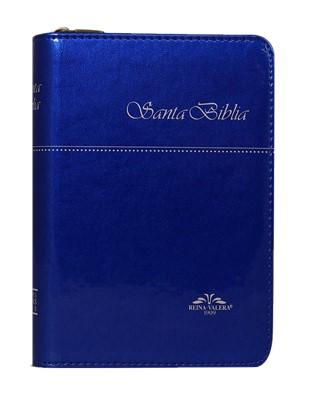Biblia RV1909VR025ZTI Bols Azul (Sintética ) [Biblia de Bolsillo]
