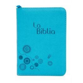 Biblia Traducción Lenguaje Actual - Letra Grande (Imitación Piel Aquamarina Con Cierre) [Biblia de Bolsillo]