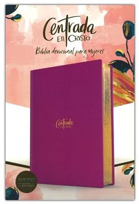 Biblia Devocional Centrada en Cristo RVR1960 (Tapa Dura) [Bíblia para la Mujer]