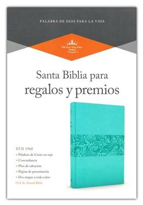 Biblia RVR60 Premios Y Regalos Turquesa (SimiPiel) [Biblia]