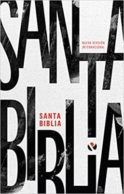 Biblia NVI Rustica Blanco Y Negro (Rustica ) [Biblia]
