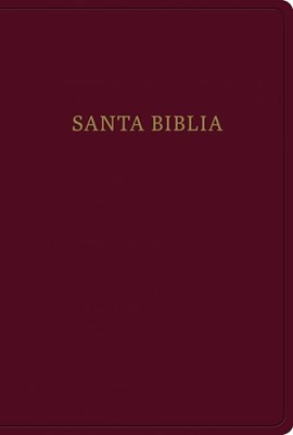 Biblia RVR60 LGigante Borgoña (Rustica ) [Biblias]