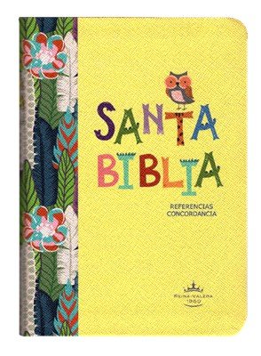 Biblia RVR045cLG Amarilla Buho (Rustica ) [Biblia]