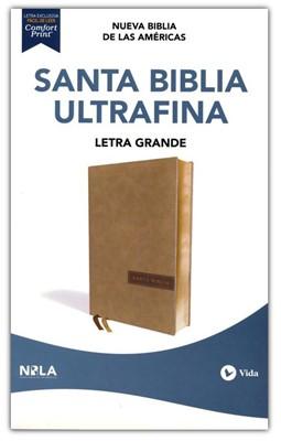 Biblia NBLA Ultrafina (SimiPiel Beige) [Biblia]