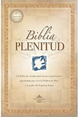 Biblia De Estudio Plenitud Reina Valera (Rústica) [Biblia de Estudio]