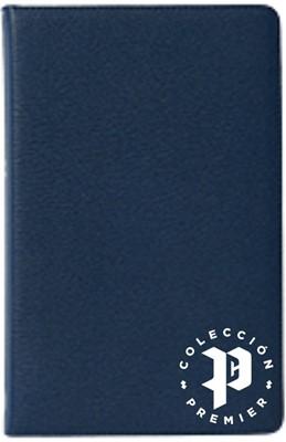 NBLA Biblia Ultrafina LG Premier Azul Marino (Piel Genuina) [Biblia]