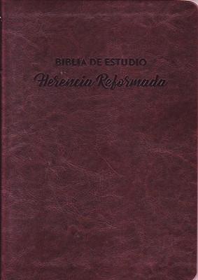 Biblia De Estudio Herencia Reformada (SimiPiel) [Biblia de Estudio]