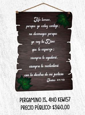 Pergamino Is. 41:10 (MDF) [Regalos]