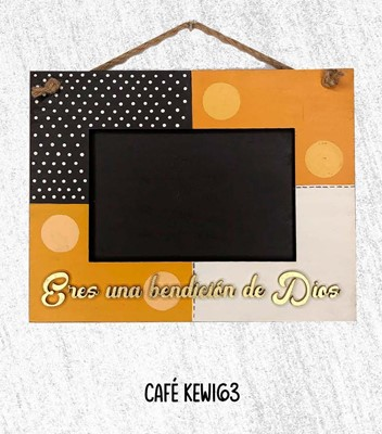 Portarretratos Cafe