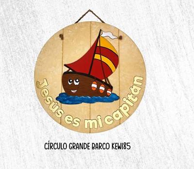 Circulo Grande Barco (MDF) [Regalos]