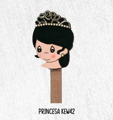Lapiz Con Princesa