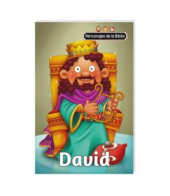 Personajes De La Biblia/David (Rustica ) [Libro de Niños]