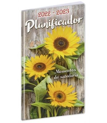 Planificador Girasol 2022-2023 (Rústica Plástico) [Calendario]