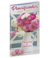 Planificador Rosas 2022-2023 (Rústica Plástico) [Calendario]
