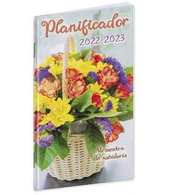 Planificador Flores 2022-2023 (Rústica Plástico) [Calendario]