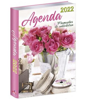 Agenda 2022 Rosas y Encanje (Rústica) [Agenda]