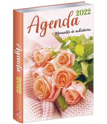 Agenda 2022 Rosas Naranja (Rústica) [Agenda]