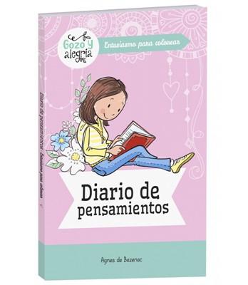 Diario De Pensamiento (Rústica) [Libro de Colorear]