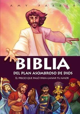 Biblia Del Plan Asombroso De Dios (Tapa Dura) [Libro de Niños]