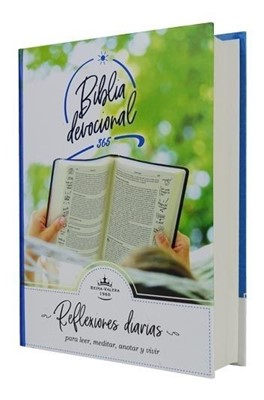 Biblia RVR60 Reflexiones Diarias (Tapa Dura) [Biblia]