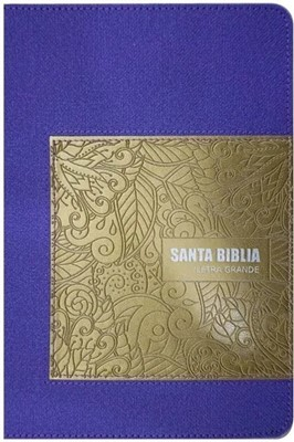 BIBLIA RVR065CLG HI PURPURA (SimiPiel Púrpura) [Biblia]