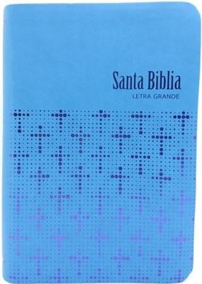 BIBLIA RVR065CLG ET CIELO AZUL (SimiPiel) [Biblia]