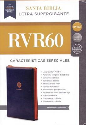 Biblia RVR60 LSGi Leathersoft (LeatherSoft Azul) [Biblia]