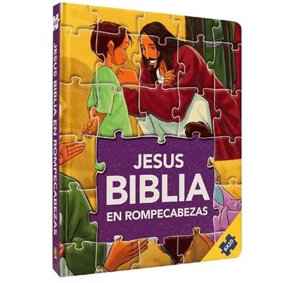 Biblia en Rompecabezas (Tapa Dura Acolchada) [Libro de Niños]
