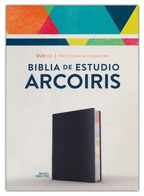 Biblia de Estudio Arcoiris N RVR60 (SimiPiel) [Biblia de Estudio]