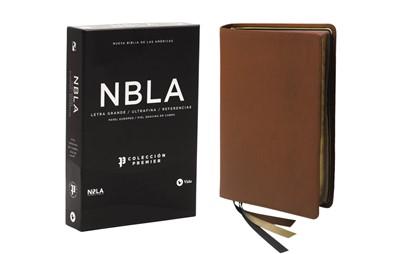 NBLA Biblia UltraFina Colección Premier Cafe (Piel Genuina) [Biblia]