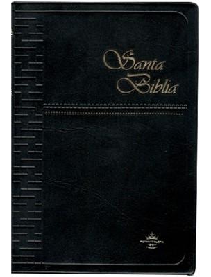 Biblia RVR1860 062 Med Vinil Negro (Vinil Negro) [Biblia]