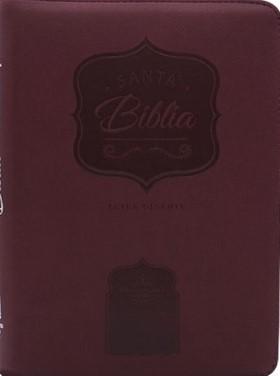 Biblia RVR085 CzlgI PJR VinoTinto CanDor (Imitación Piel) [Biblia]