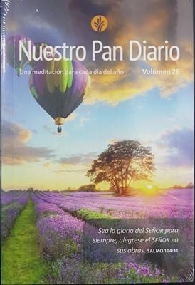 Nuestro Pan Diario Vol. 26 (Rústica) [Devocional de Bolsillo]