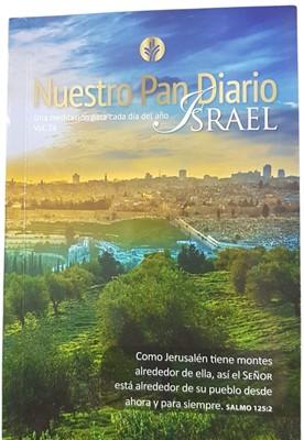 Nuestro Pan Diario Vol 26 Israel (Rústica) [Devocional de Bolsillo]