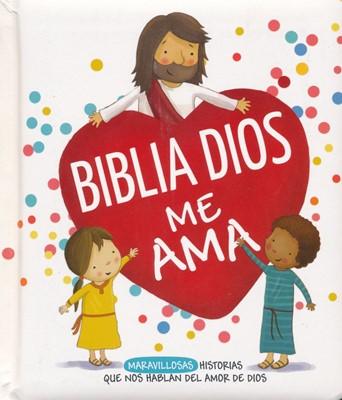 Biblia Dios me Ama (Tapa Dura Acolchada) [Biblias para Niños]