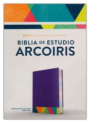 Santa Biblia RVR60 (Simi Piel Morada) [Biblia de Estudio]