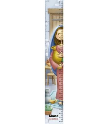 Reglas 3D Martha (Plástico) [Regalos]
