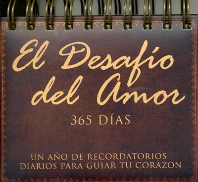 Calendario el desafío del amor 365 días (Acolchada) [Calendario]