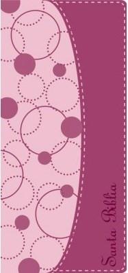 Biblia NVI Contorno Fino (Piel Italiana Rosada) [Biblia]