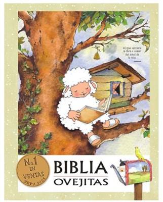 Biblia Ovejitas 5ta Ediccion RVR60 Vinil