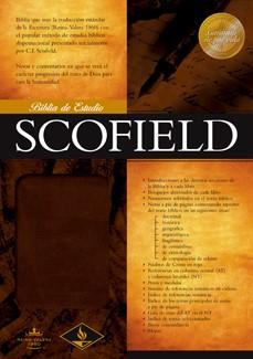 Biblia De Estudio Scofield/RVR/Simil Pie (Imitación Piel Chocolate) [Biblia de Estudio]