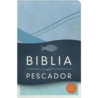 Biblia Del Pescador RVR60 (Símil Piel Azul Cobalto) [Biblia]