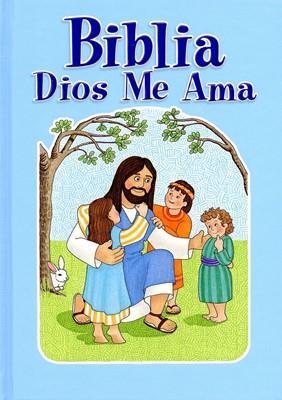 Biblia Dios Me Ama/Azul (Tapa dura) [Biblia]
