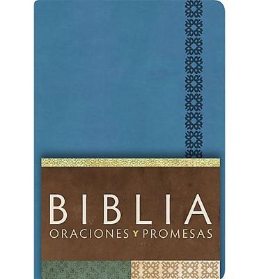 Biblia/RVC/Oraciones Y Promesas/Imitacio (Azul Cobalto símil piel ) [Biblia]