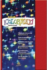 Biblia Reina Valera Colormax (Imitación Piel Roja) [Biblia]