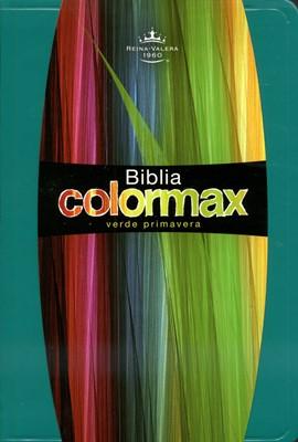 Biblia Reina Valera Colormax (Imitación Piel Verde Primavera) [Biblia]