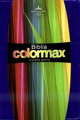 Biblia Reina Valera Colormax (Imitación Piel Violeta Party) [Biblia de Bolsillo]