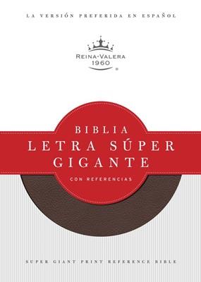 Biblia RVR de Referencia Letra Super Gigante (Imitación Piel Vino) [Biblia]
