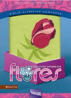 Biblia ultrafina compacta, flores, Rosa
