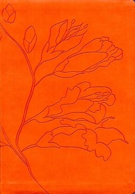 Biblia RVR Tamaño Personal (Imitación Piel Flexible Naranja) [Biblia]